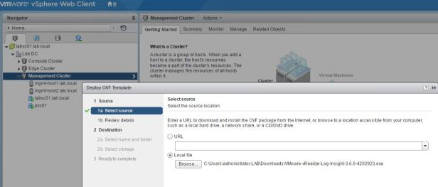 Install or Upgrade the vSphere Web Client - VMware